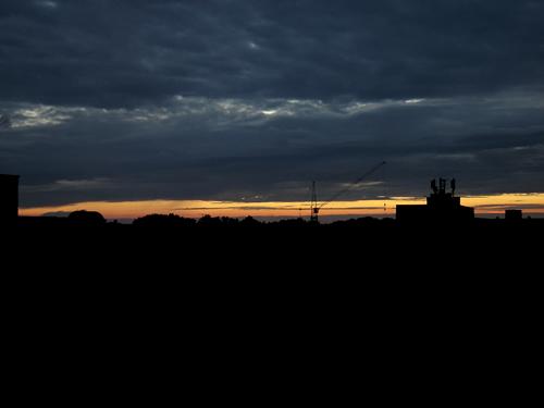 obrázek: Dynamický západ slunce