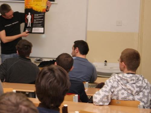 obrázek: Závěr semináře o technologii Silverlight 2.0